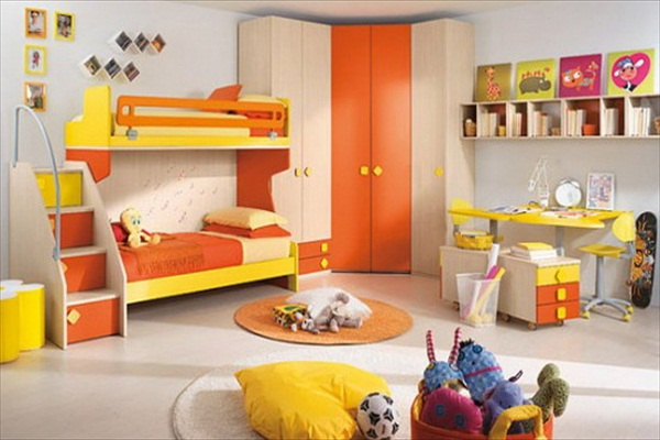 bunk beds making room for daisy