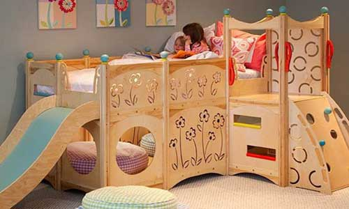 plans to build a castle bunk bed